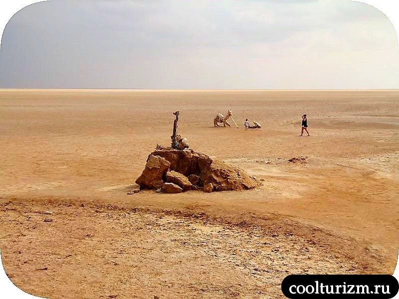 Озеро Шотт эль Джерид Тунис