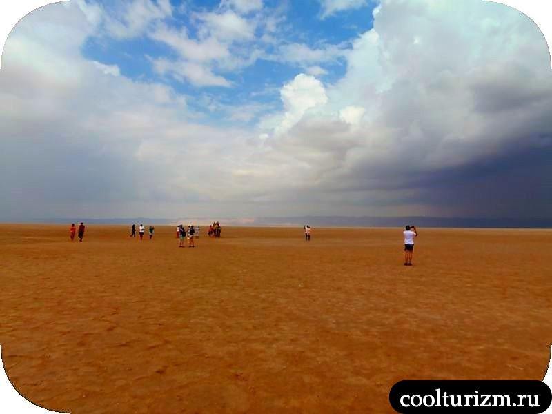 Озеро Шотт эль Джерид соль
