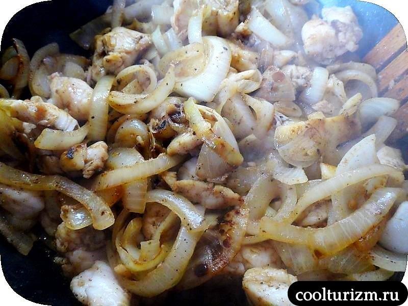 картофельная запеканка со щечками