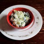 Салат с китайской капустой и огурцами