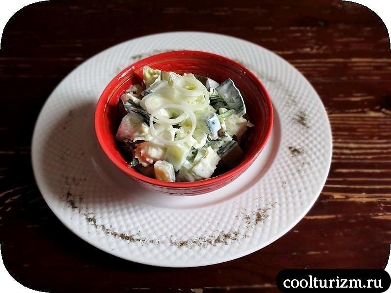 салат с китайской капустой