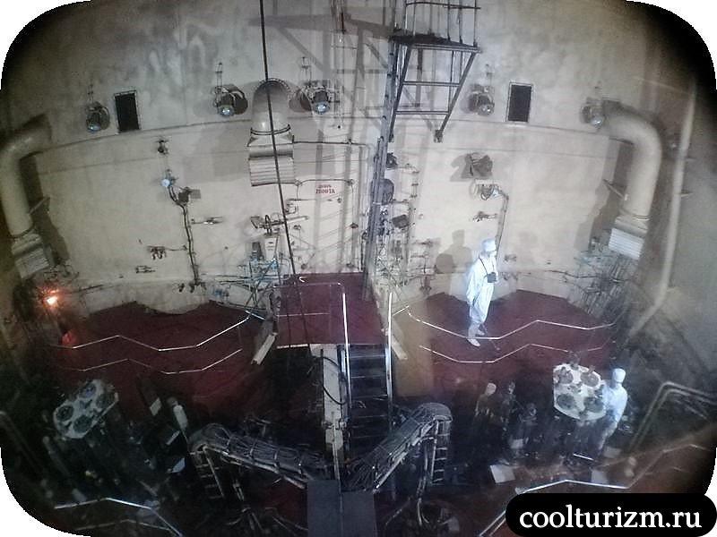 машинное отделение и ядерный реактор ледокола Ленин