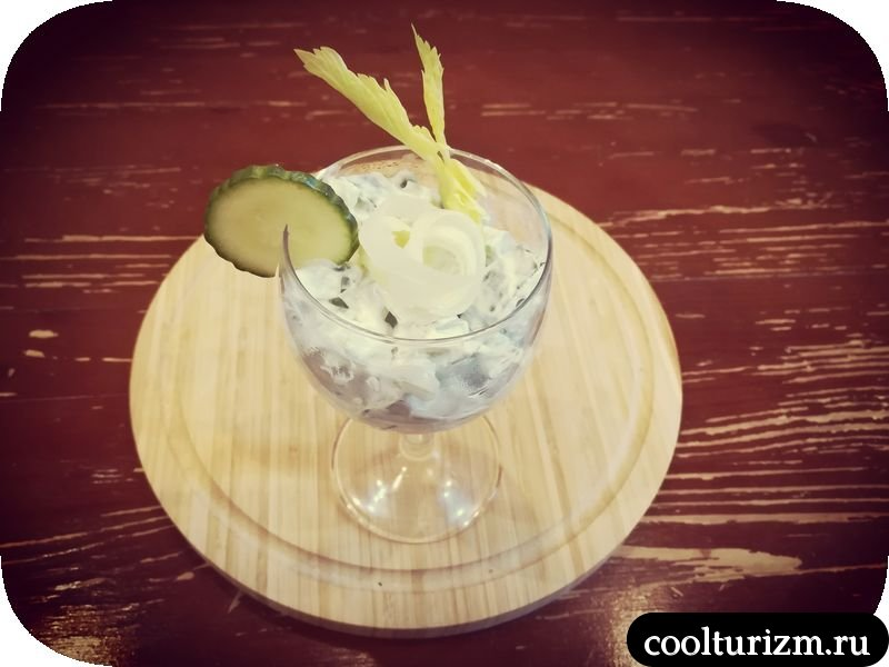 салат коктейль