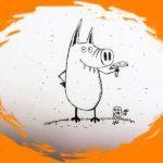 """Мастер-класс """"Как рисовать Свинни"""""""