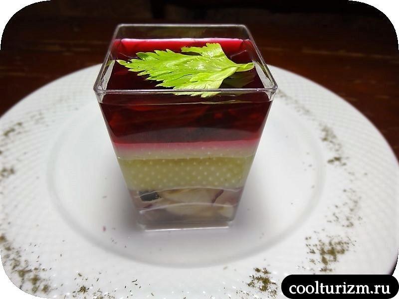 селедка под шубой в желе