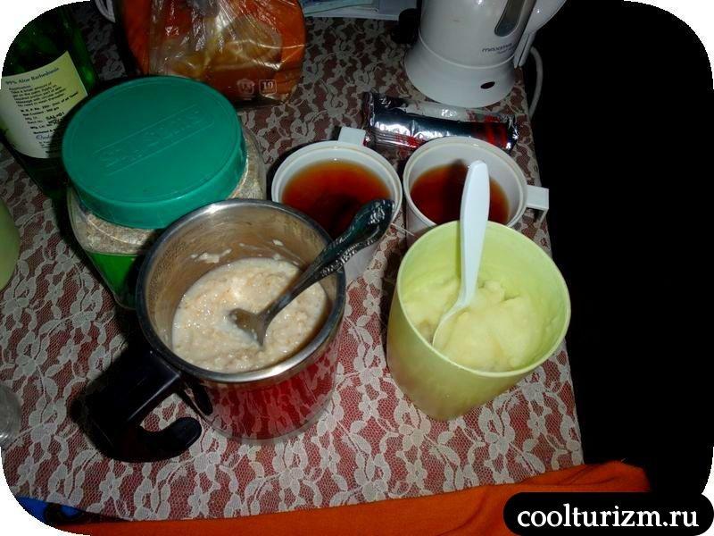 чай с печеньками в Индии.Мандрем
