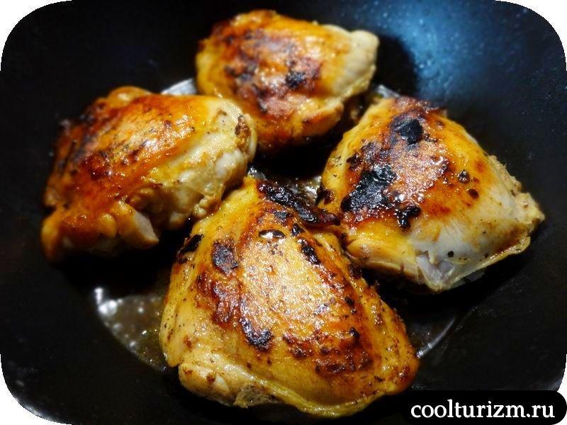 Стоунхендж из картошки и куриных бедрышек