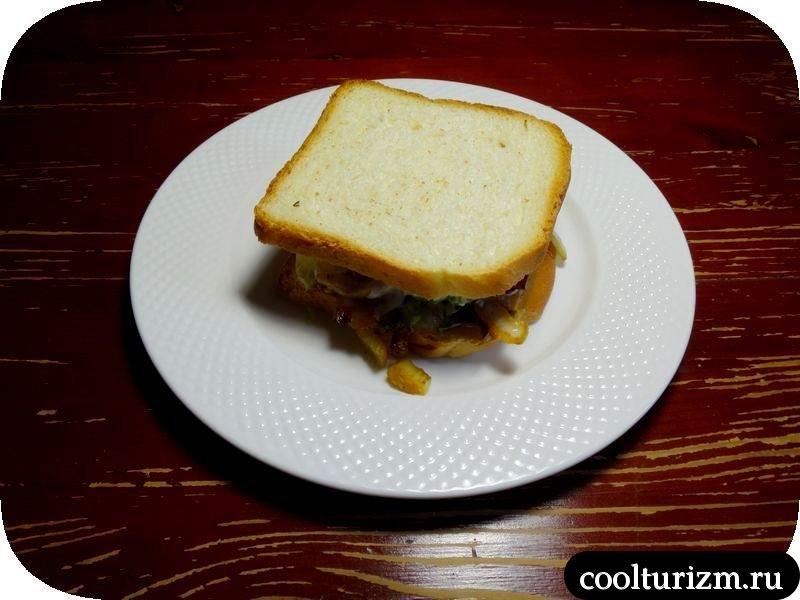сендвич с индейкой
