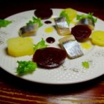 Салат из селедки, картошки и свеклы. Не селедка под шубой
