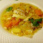Гороховый суп с треской