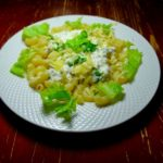 Макароны с творожно-сливочным соусом