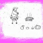 Утилизация яблок по-свински.Очередное разоблачение горе-повара Свинни