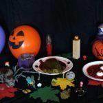 Еда на Хэллоуин рецепты.Вишневый суп на Хэллоуин