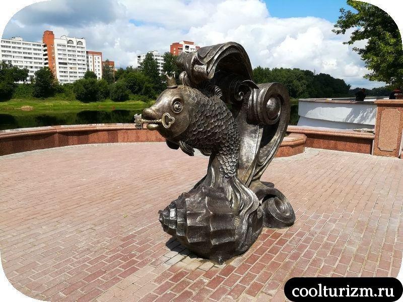 Витебск. Львы, золотая рыбка и Шагал