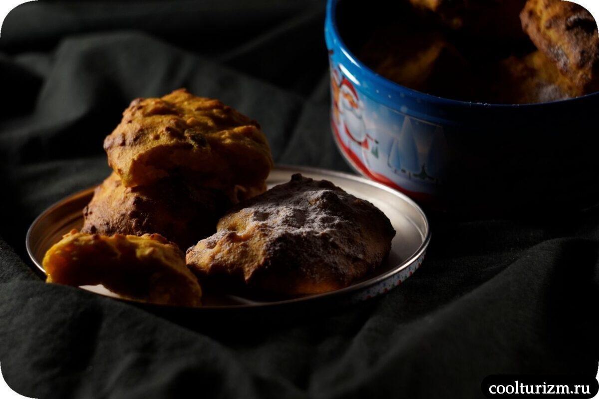 овсяно тыквенное печенье