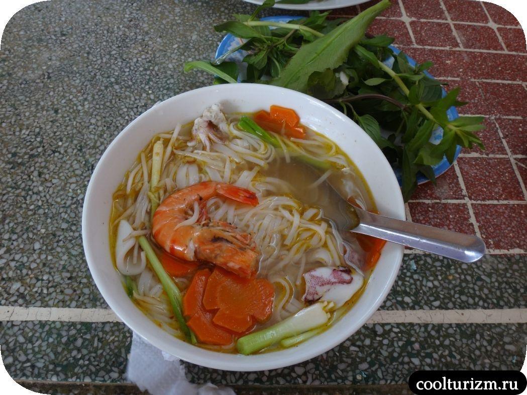 цены на еду в Муйне, Вьетнам