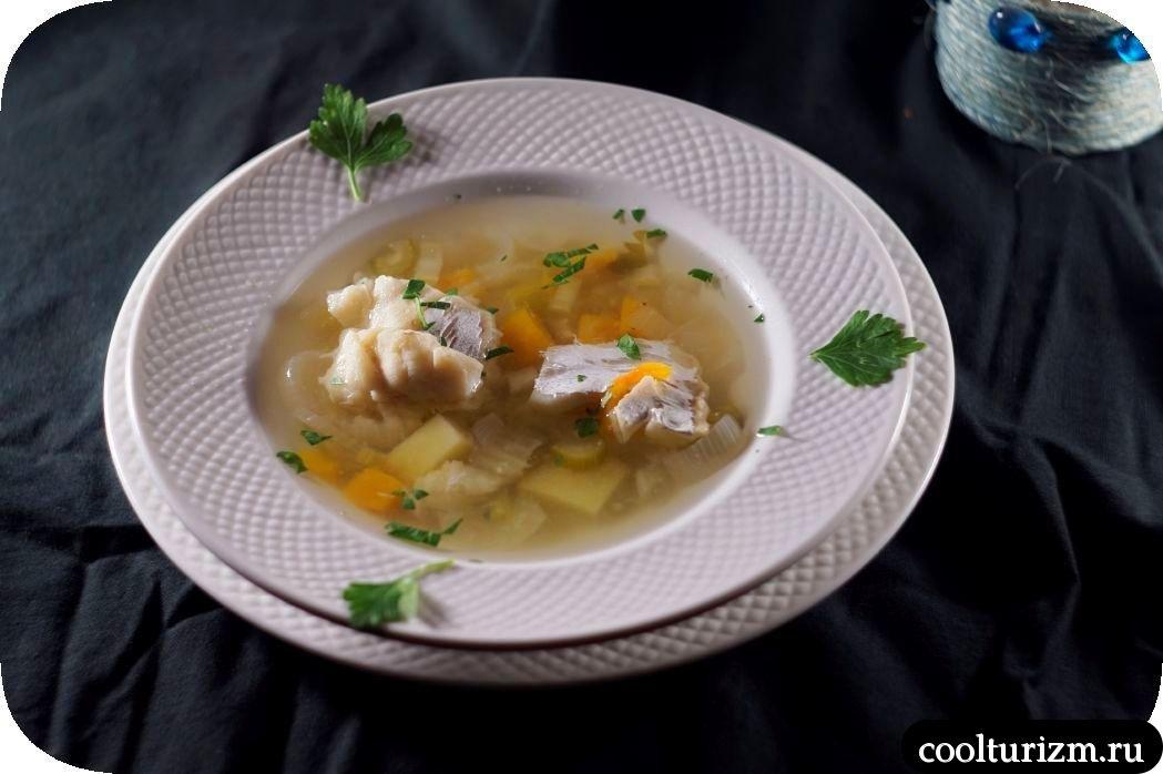 рыбный суп из трески и тыквы