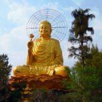 Золотой Будда в Далате и пагода Ван Хань. Вьетнам. Далат