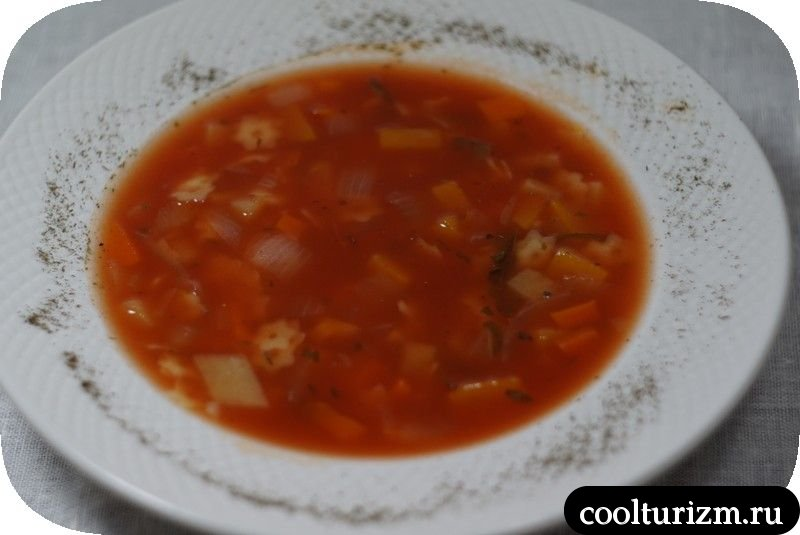 как приготовить суп с макаронами