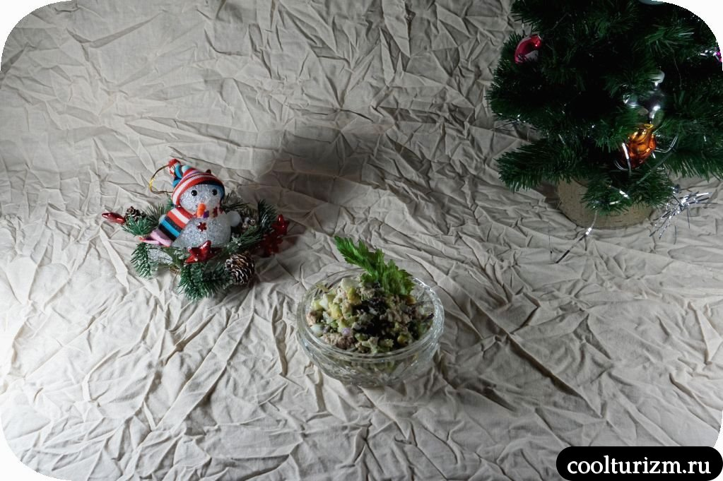 как приготовить салат из печени трески