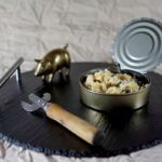 Салат со скумбрией, кукурузой и картошкой
