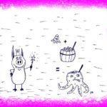 Свинделко и дракон улетают на другую планету