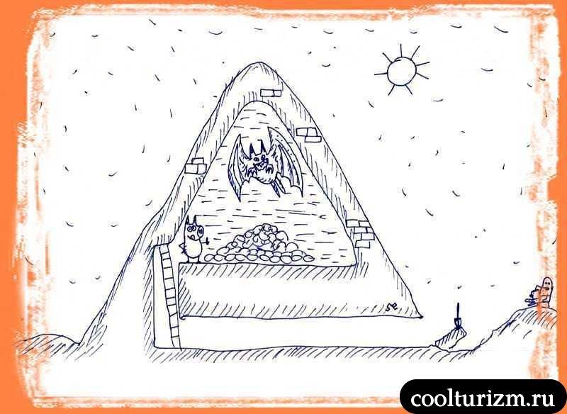 древний страж пирамиды Хрюопса