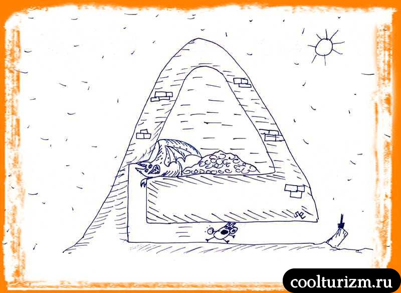 золотые печеньки пирамиды Хрюопса