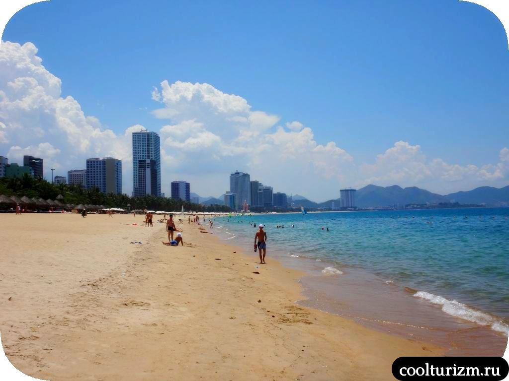 Свинни и Вьетнам Нячанг пляжи. Камера пляж Нячанг