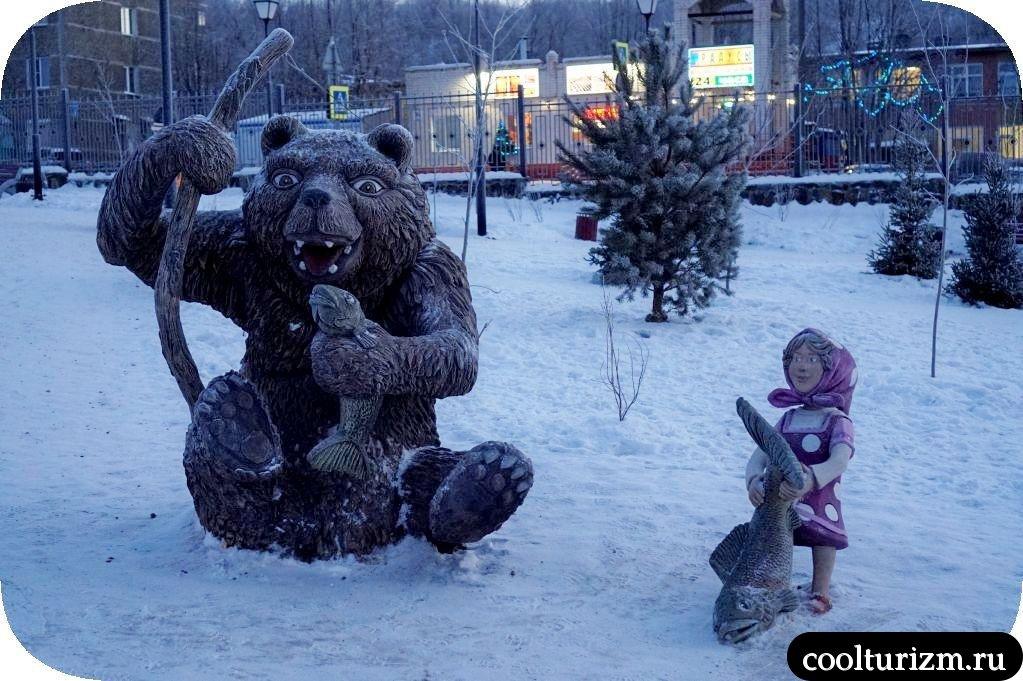 Сказка. Детский городок в Мурманске
