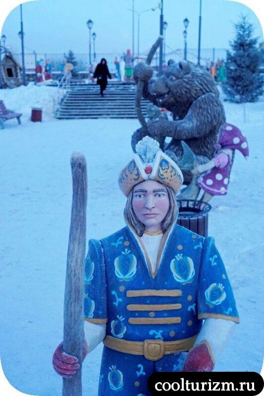 детский городок Сказка,Мурманск