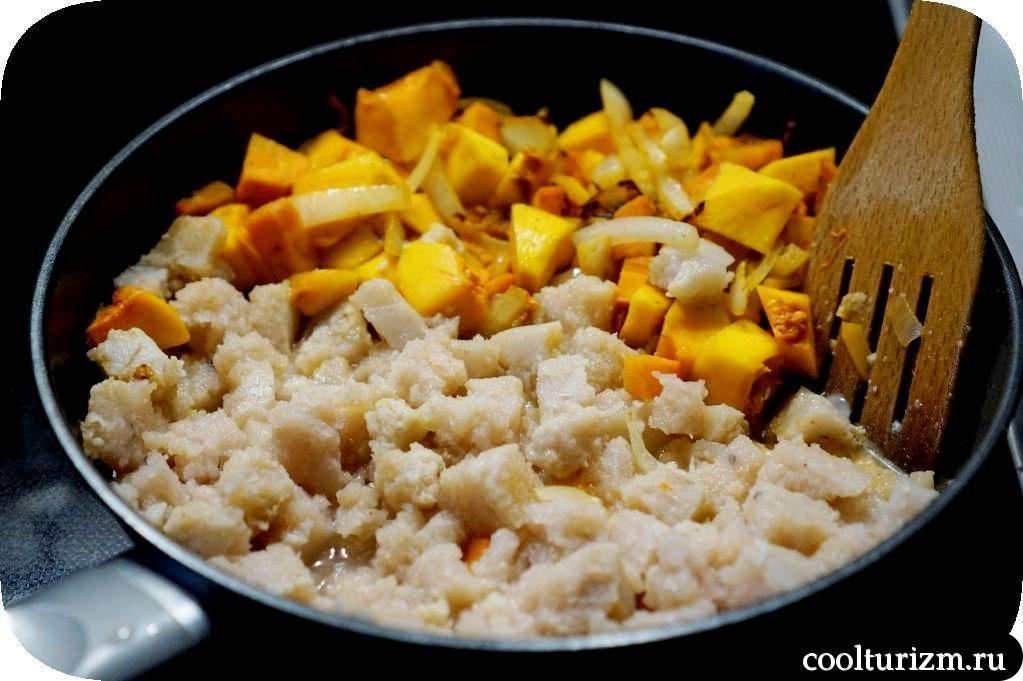 запеканка из рыбы и картофеля