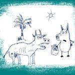 Наглая корова в Гоа