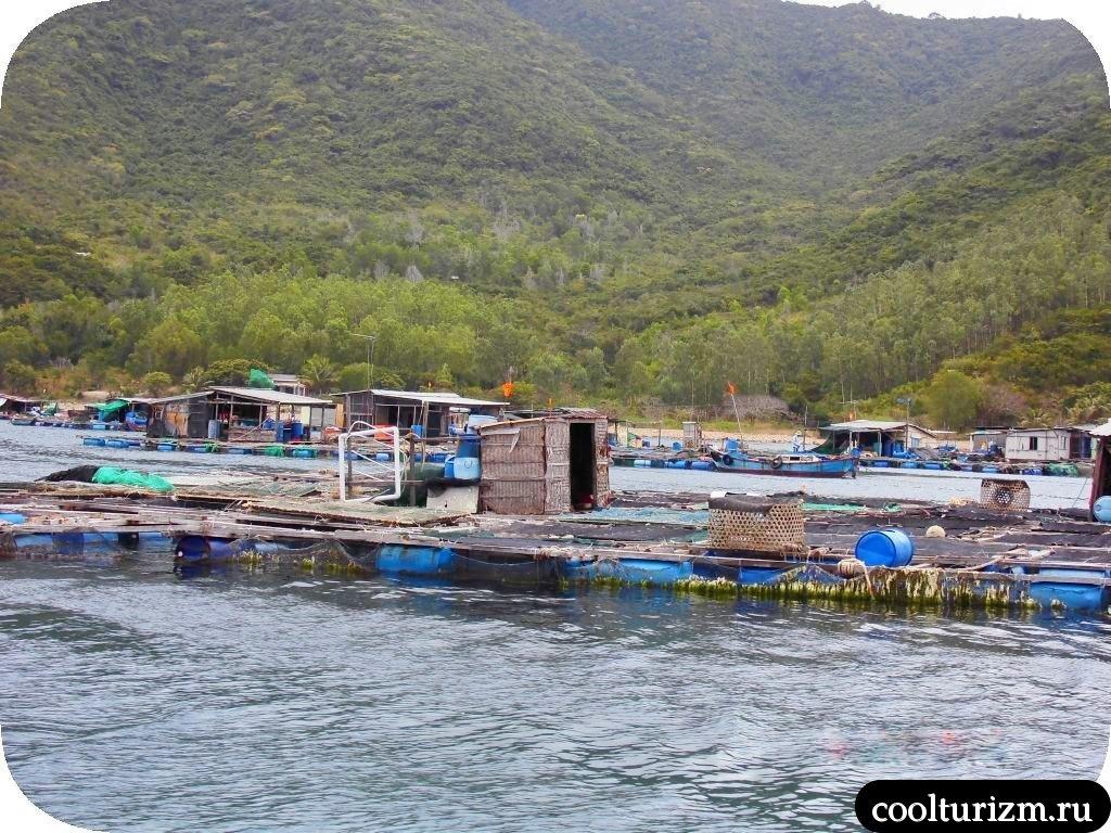 рыбацкая деревня Вьетнам
