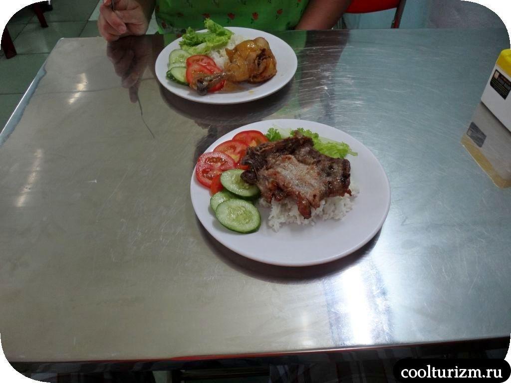 Еда в Нячанге, Вьетнам.Часть 2. Гамбургеры, комы и крокодилы