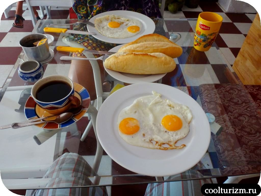 завтраки в Нячанге
