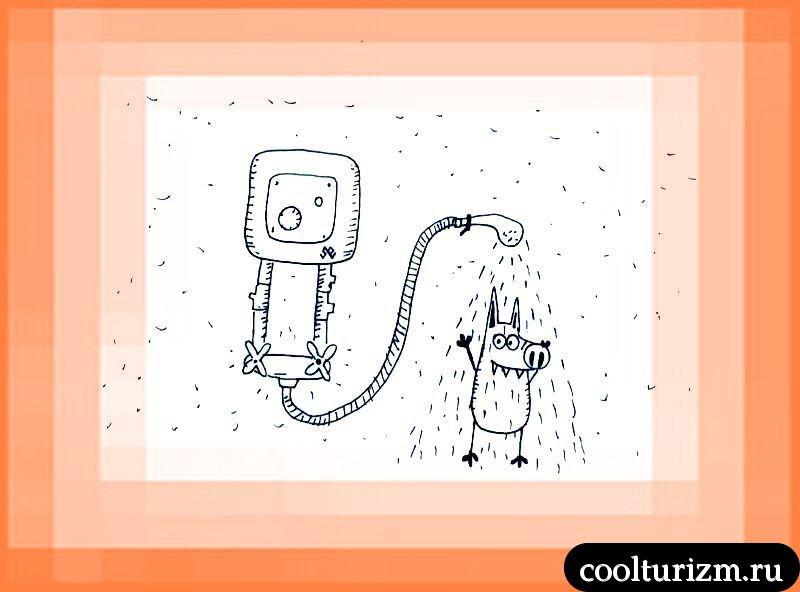 Svinni hat heißes Wasser!