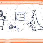 Свинни даёт мастер-класс пингвинам