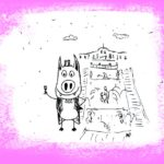 Месье Свинни на фонтанах