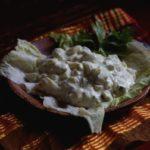 Салат с авокадо и яйцом. Рецепт
