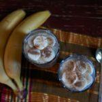 Семена чиа с кефиром, творогом и бананами