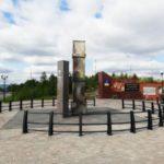 Монумент жителям военного Мурманска. По пути к памятнику Алеше