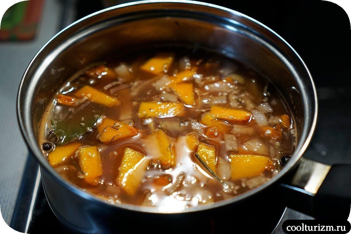 суп с нори