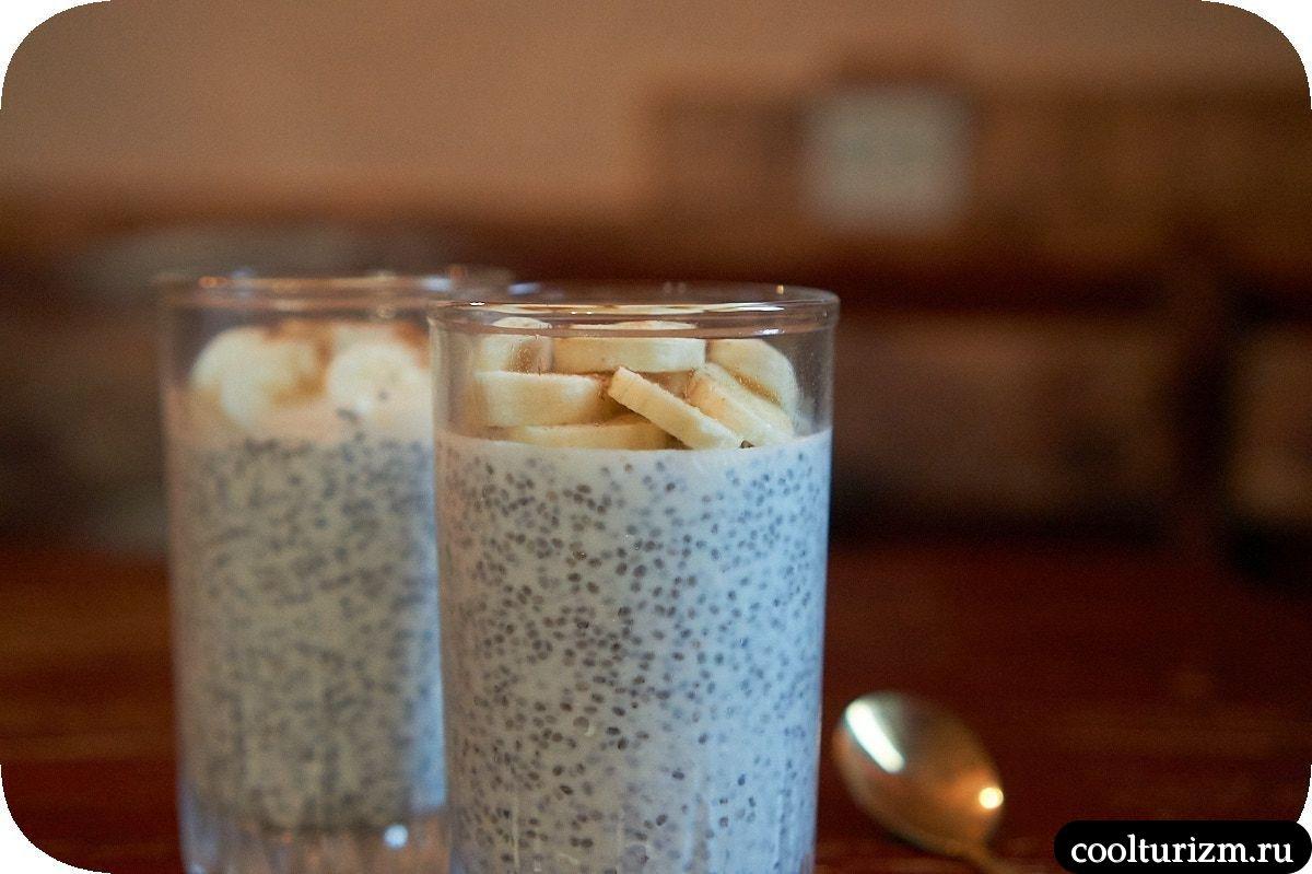 йогурт с семенами чиа
