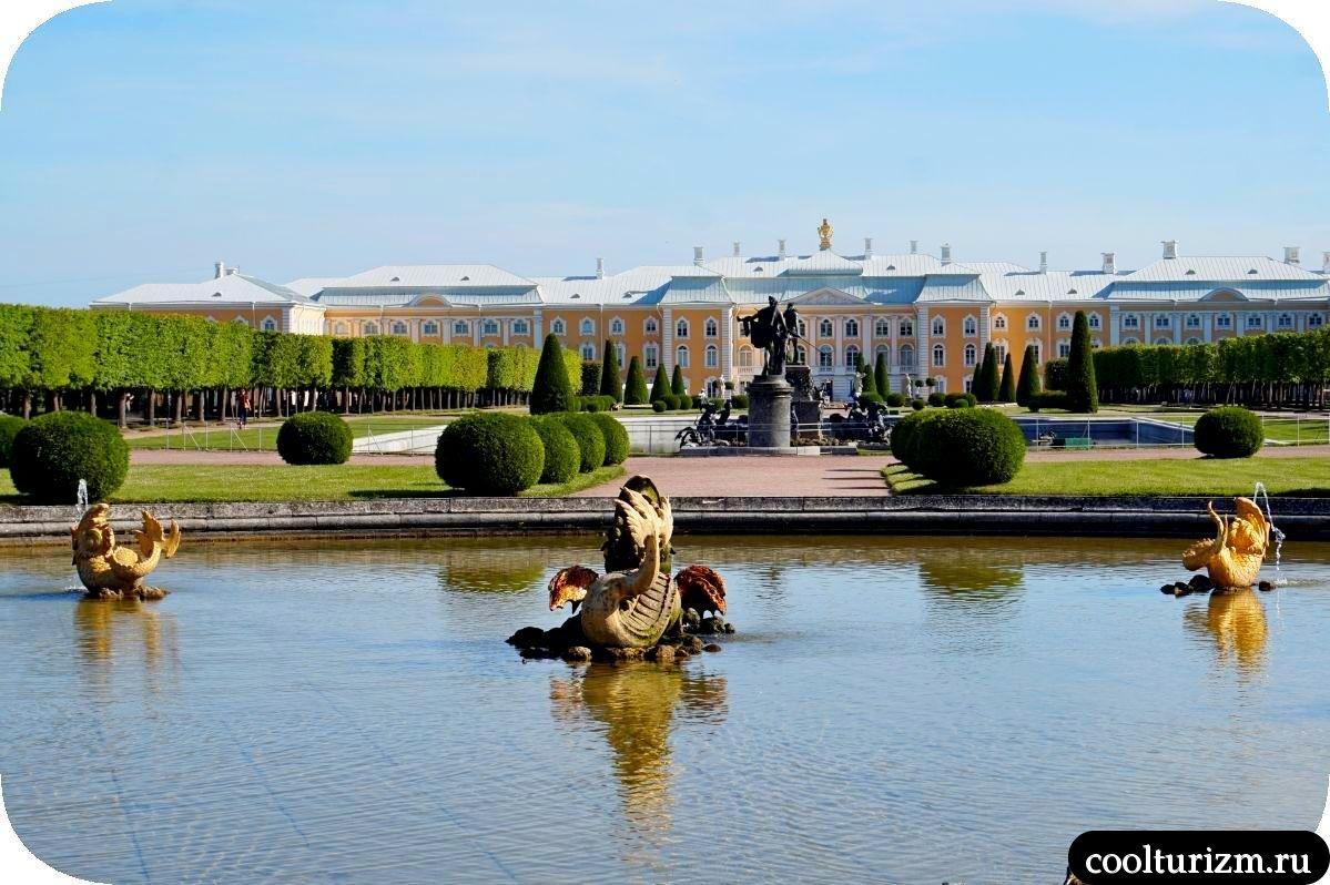 Межеумный фонтан Верхний сад