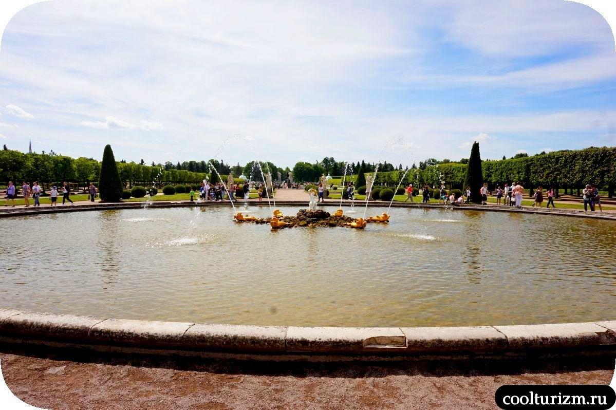 Дубовый фонтан Верхний сад