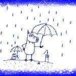 Дождик отдыху не помеха!