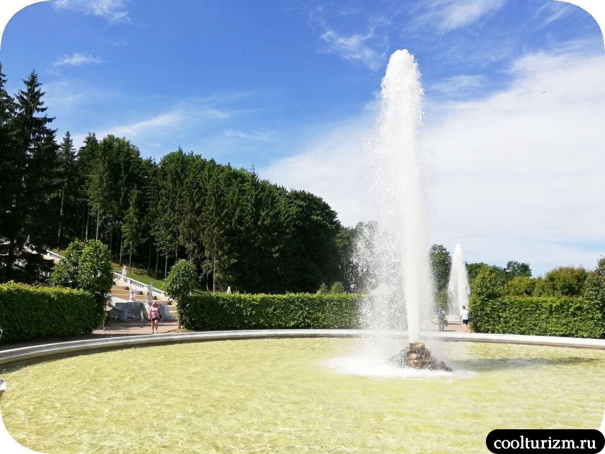 Менажерный фонтан