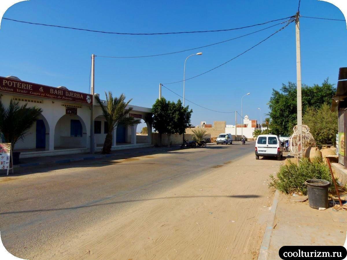 Джерба Тунис сувениры гончарные изделия