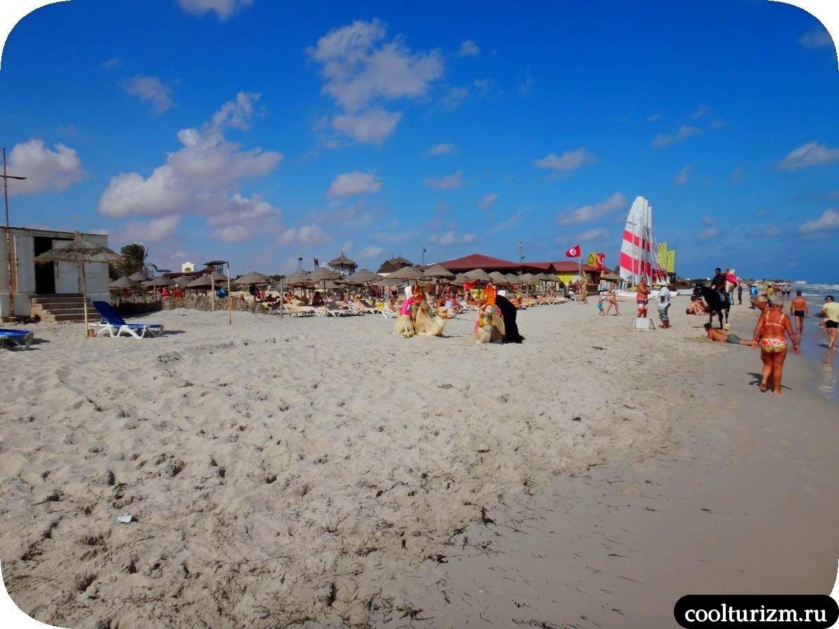 погода и море Джерба Тунис в октябре